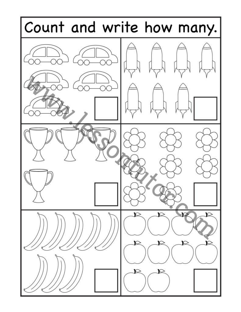 Math Worksheets  Page 20 of 20   Lesson Tutor