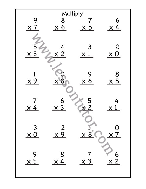 2nd Grade Worksheets- Page 2 Of 11 - Lesson Tutor